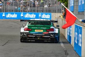 Red flag, Marco Wittmann, BMW Team RMG, BMW M4 DTM