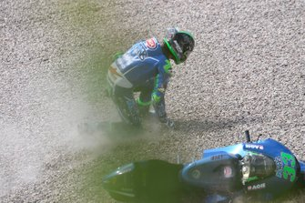 Enea Bastianini, Italtrans Racing Team crash
