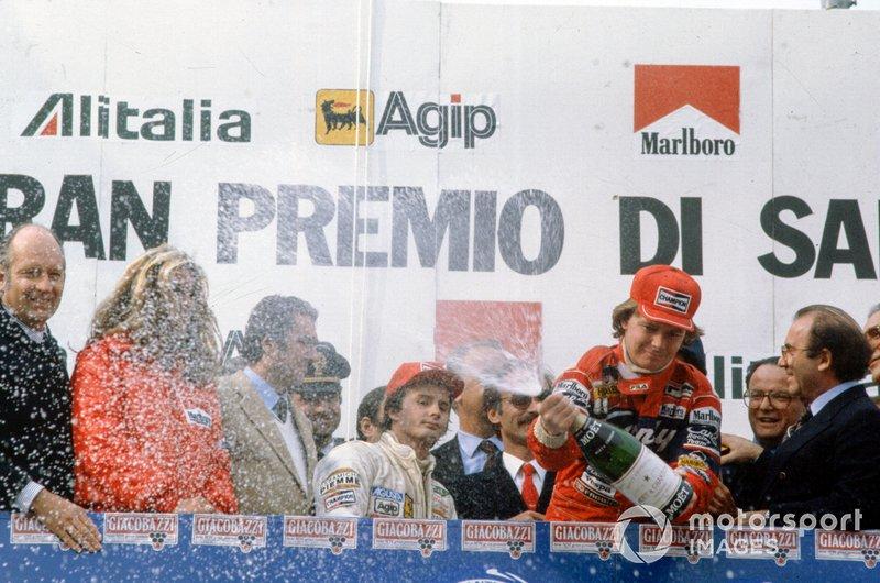 Didier Pironi, Ferrari y Gilles Villeneuve, Ferrari