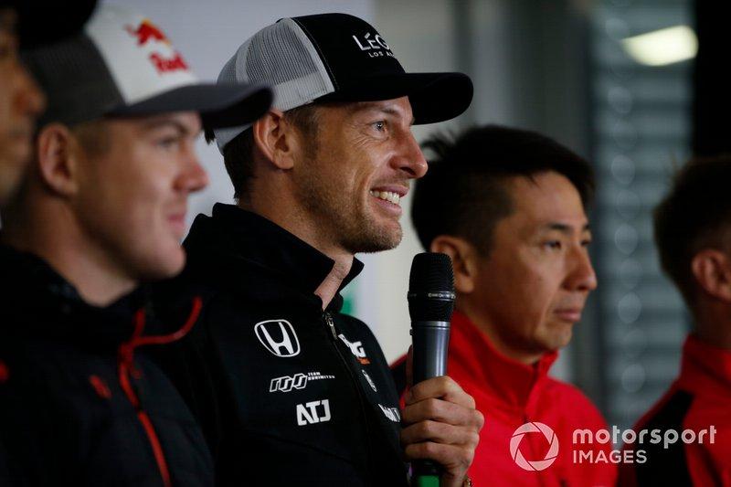 Conferenza stampa, Jenson Button, Team Kunimitsu Honda