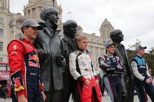 Sébastien Ogier, Citroën World Rally Team, Ott Tänak, Toyota Gazoo Racing, Thierry Neuville, Hyundai Motorsport, Elfyn Evans, M-Sport Ford WRT