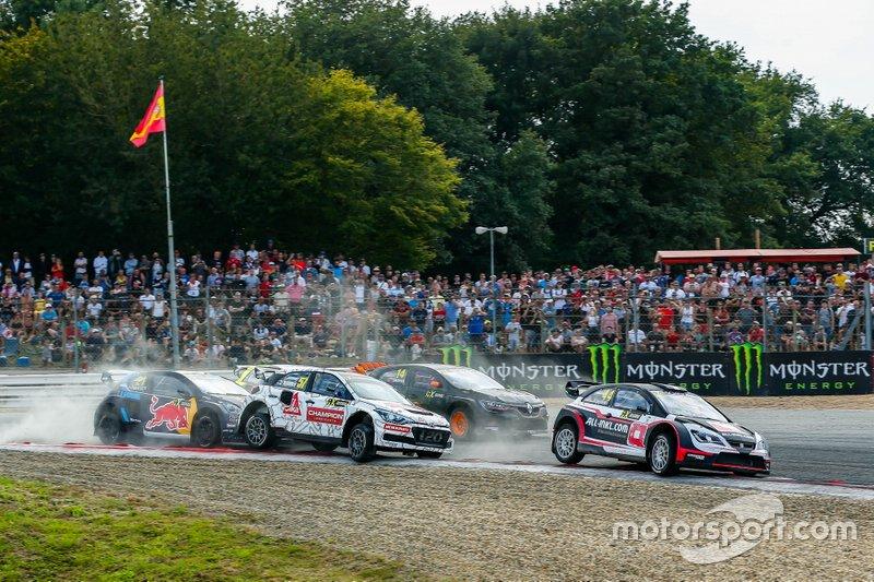 Timo Scheider, All-Inkl Münnich Motorsport, Toomas Heikkinen, GRX Set, Timmy Hansen, Team Hansen MJP