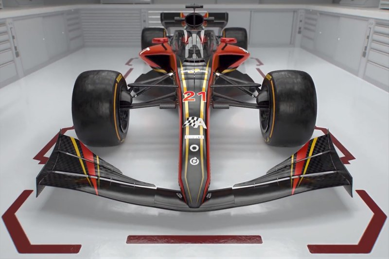 El diseño original de los F1 para 2021 era así