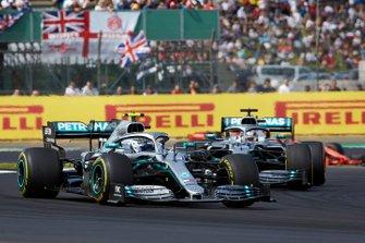 Валттери Боттас и Льюис Хэмилтон, Mercedes AMG F1 W10