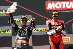 Jonjathan Jonathan Rea, Kawasaki Racing Team, Alvaro Bautista, Aruba.it Racing-Ducati Team