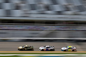 Kurt Busch, Chip Ganassi Racing, Chevrolet Camaro Global Poker, ] Alex Bowman, Hendrick Motorsports, Chevrolet Camaro Valvoline Patriotic and William Byron, Hendrick Motorsports, Chevrolet Camaro Axalta Patriotic