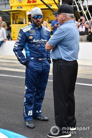 Martin Truex Jr., Joe Gibbs Racing, Toyota Camry AOI and Coach Joe Gibbs