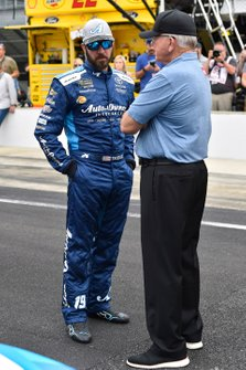 Martin Truex Jr., Joe Gibbs Racing, mit Coach Joe Gibbs