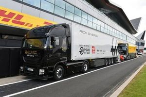Haas F1 truck