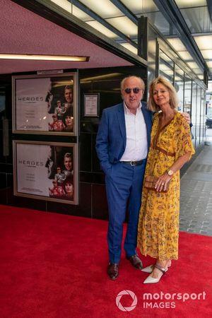 David Richards y su esposa Karen