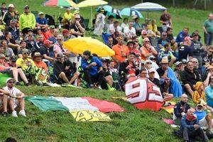 Pubblico alla gara del GP d'Austria