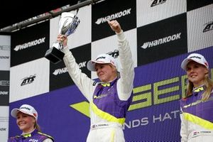 Podium: Race winner Alice Powell