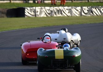 Sussex Trophy Wills Lotus Minshaw Lister Hancock Ferrari