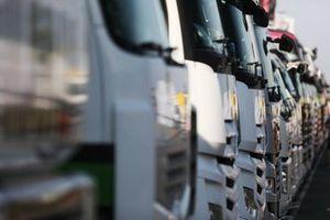 BTCC Trucks in the paddock