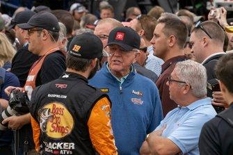Martin Truex Jr., Joe Gibbs Racing, mit Coach Joe Gibbs