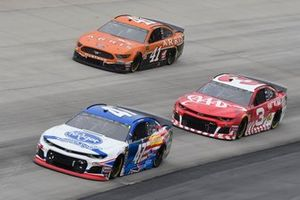 Ryan Preece, JTG Daugherty Racing, Chevrolet Camaro Kroger, Austin Dillon, Richard Childress Racing, Chevrolet Camaro AAA, Daniel Suarez, Stewart-Haas Racing, Ford Mustang ARRIS