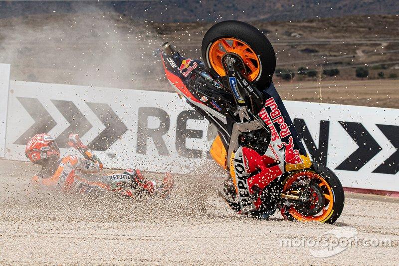 La caduta di Marc Márquez, Repsol Honda Team