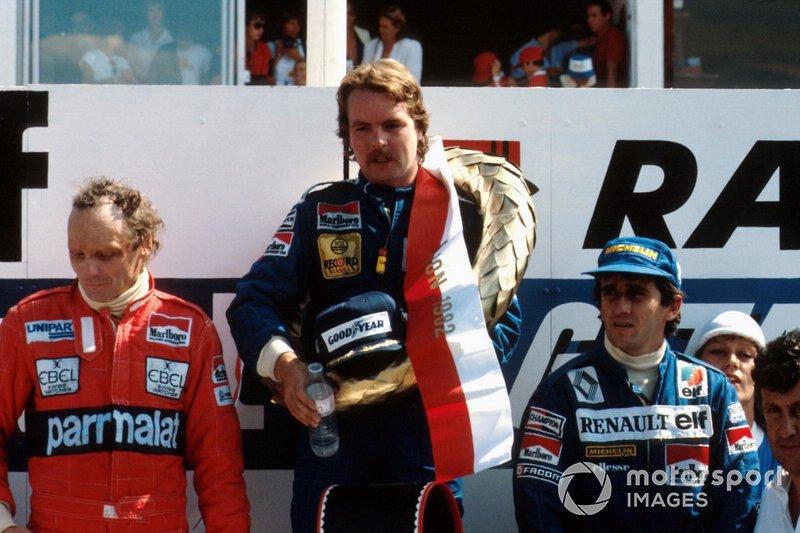 #72 Keke Rosberg, Williams