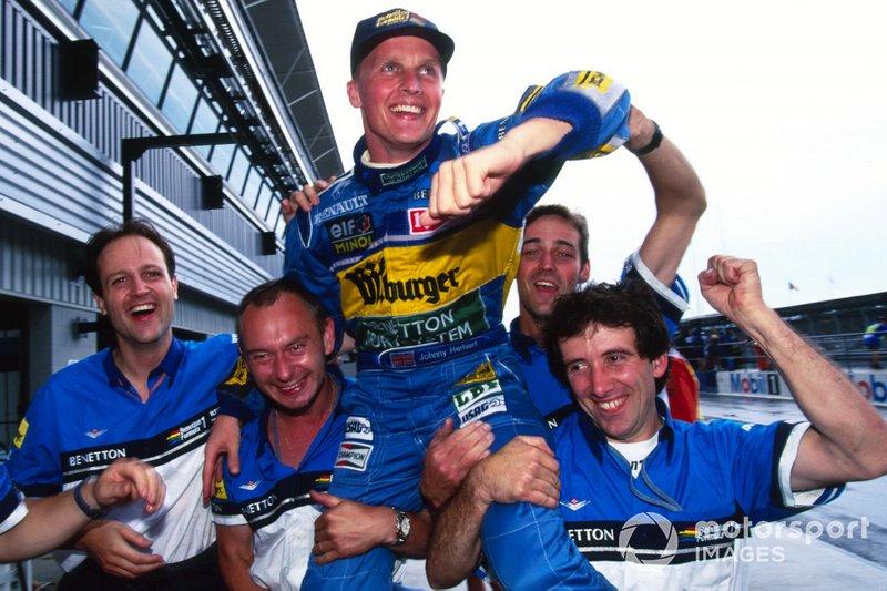 #82 Johnny Herbert, Benetton