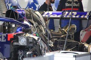 Toro Rosso STR14, dettaglio dell'ala posteriore