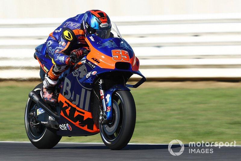 20 место. Хафиз Сьяхрин, Red Bull KTM Tech 3 - 1:34,322