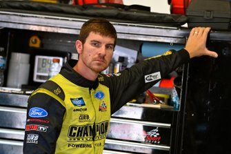 Grant Enfinger, ThorSport Racing, Ford F-150 ThorSport Racing/Curb Records