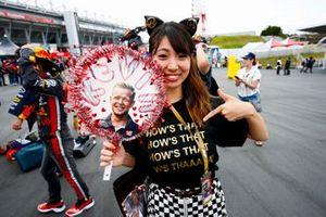 Un fan de Kevin Magnussen, Haas F1