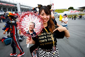 A fan of Kevin Magnussen, Haas F1