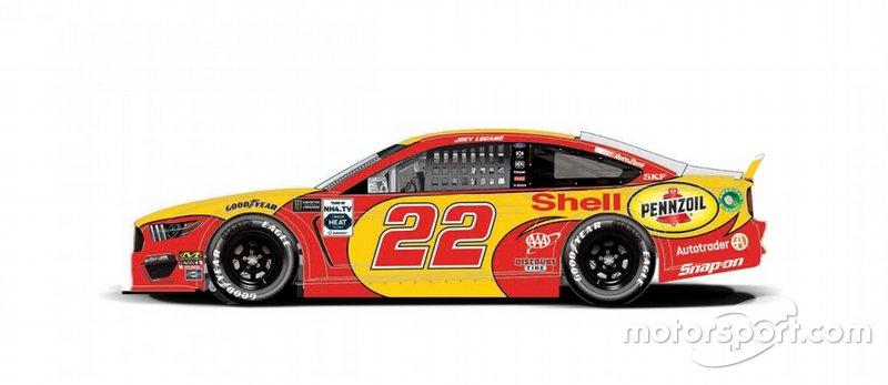 Joey Logano terá carro alusivo à pintura que Kevin Harvick usava quando venceu a Daytona 500 de 2007