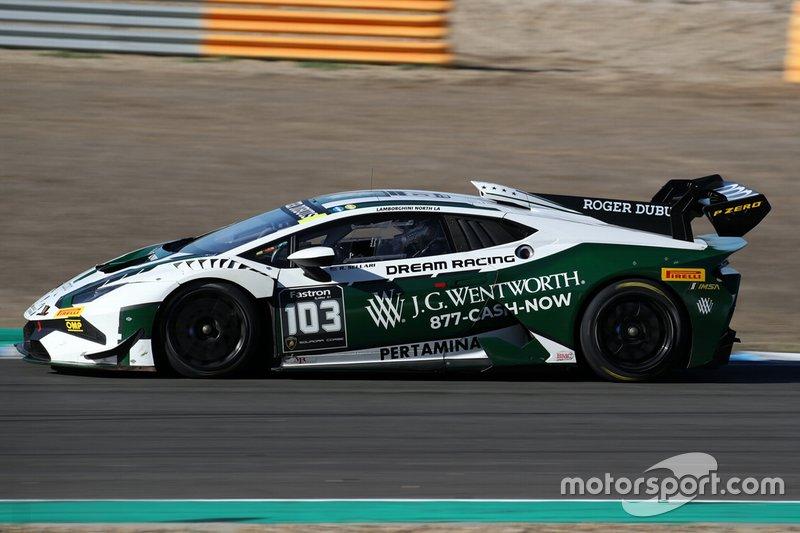 #103 Huracan Super Trofeo Evo, Dream Racing Motorsport: Randy Sellari