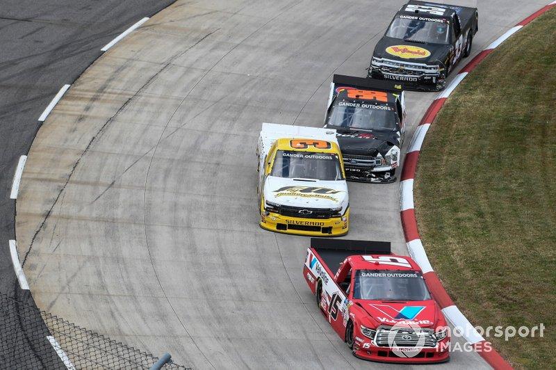 Tanner Gray, DGR-Crosley, Toyota Tundra Valvoline / Durst, #3: Jordan Anderson, Jordan Anderson Racing, Chevrolet Silverado Bommarito.com / WCIparts.com