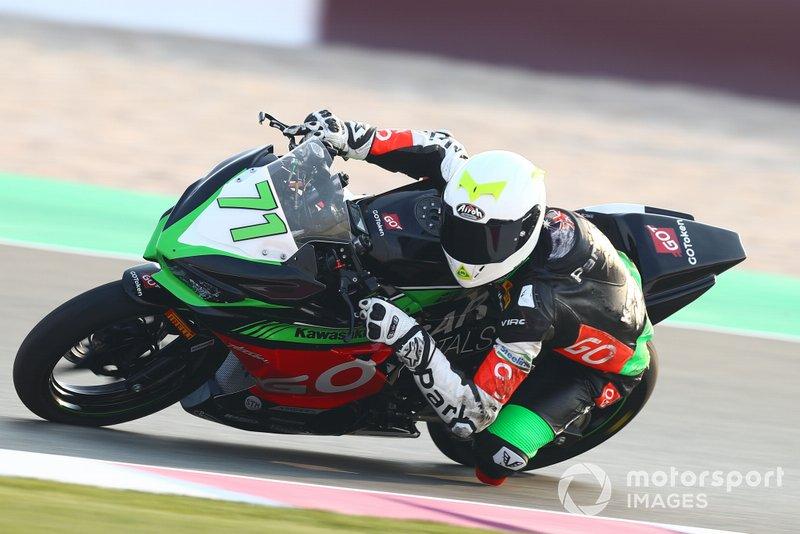 Tom Edwards, Kawasaki ParkinGO Team