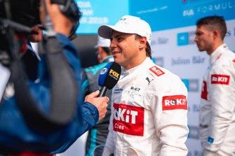 Felipe Massa, Venturi talks to the media