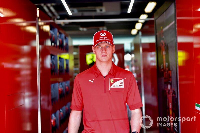 Ferrari Academy driver Mick Schumacher