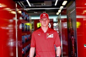 Le pilote Ferrari Academy Mick Schumacher