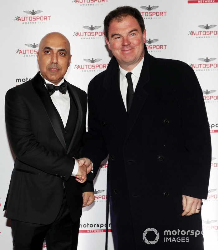 Motorsport Network President James Allen arriveert