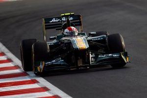 Jarno Trulli, Lotus T128 Renault, al GP d'India del 2011