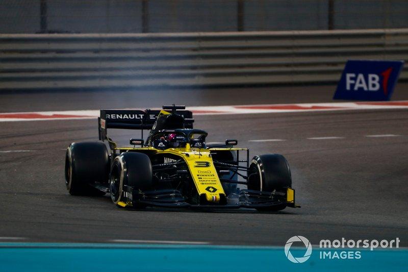 11º: Daniel Ricciardo, Renault F1 Team R.S.19
