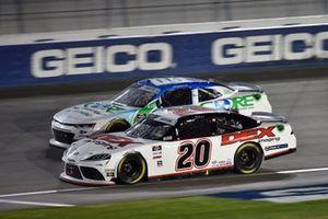 Harrison Burton, Joe Gibbs Racing, Toyota Supra Dex Imaging, Joe Graf Jr, SS Green Light Racing, Chevrolet Camaro CORE Development Group