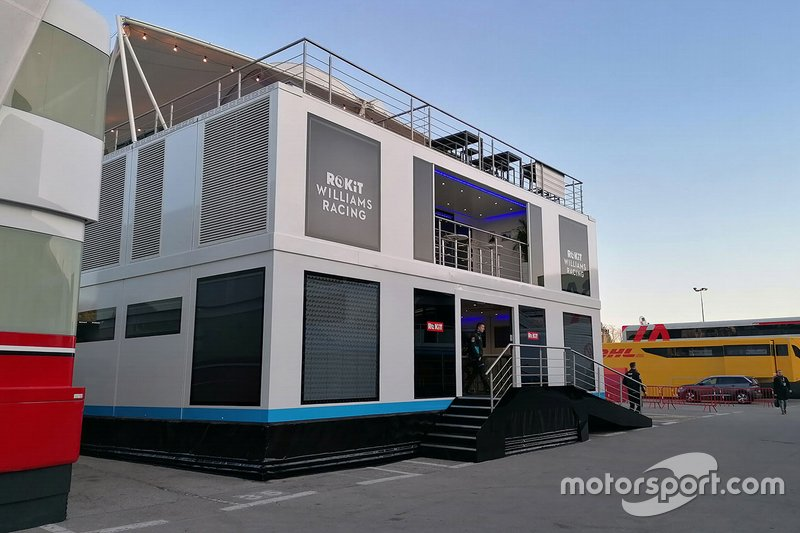 El motorhome de Williams