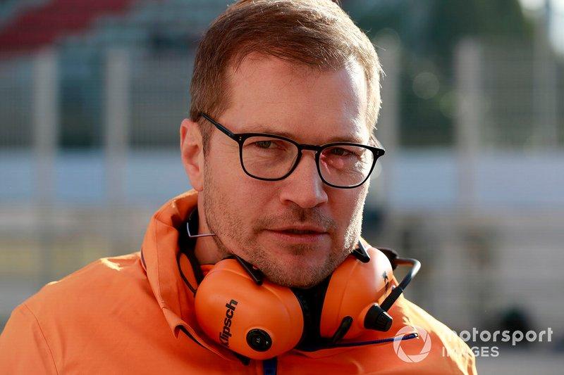 Andreas Seidl, director de McLaren