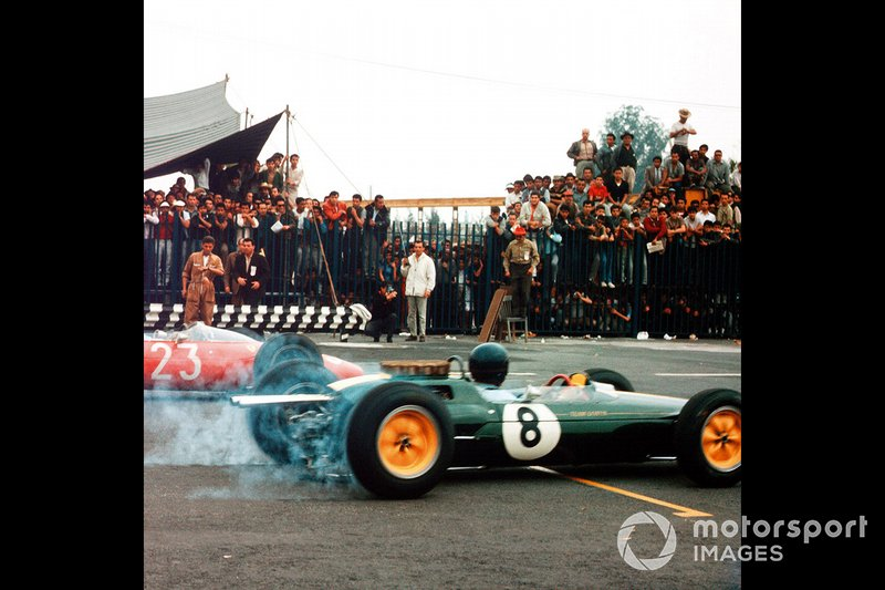 Jim Clark, Lotus, John Surtees, Ferrari