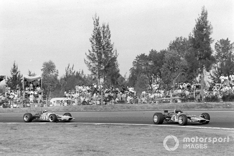 Graham Hill, Lotus, Jackie Stewart, Matra