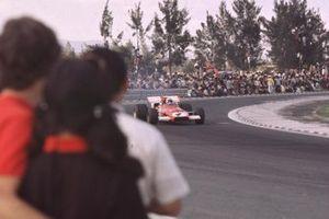 Clay Regazzoni, Ferrari, al GP del Messico del 1970
