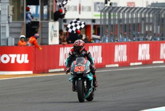 Second place Fabio Quartararo, Petronas Yamaha SRT