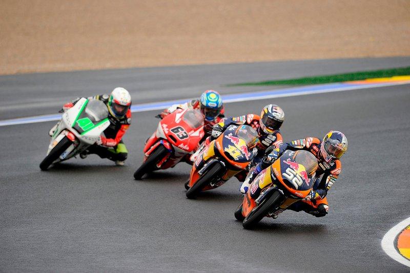 Sandro Cortese, Red Bull KTM Ajo, Danny Kent, Red Bull KTM Ajo