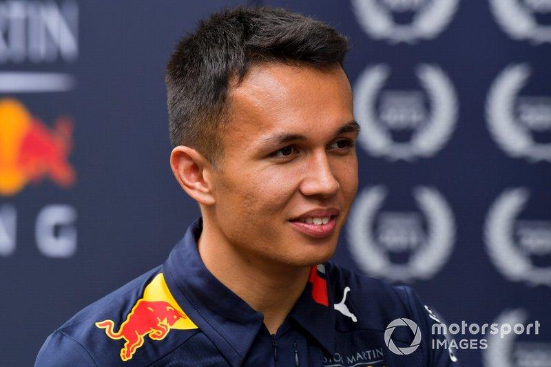 2.- Alexander Albon, Red Bull Racing