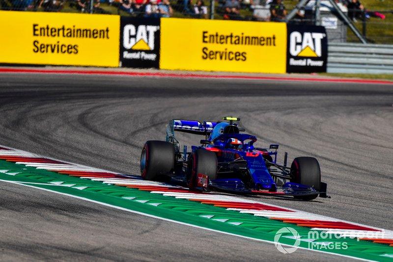 16º Pierre Gasly, Toro Rosso STR14 (acabó abandonando)