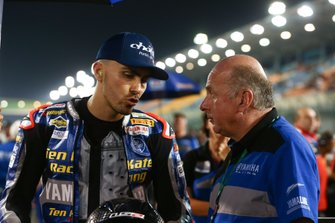 Loris Baz, Ten Kate Racing Yamaha, mit Eric de Seynes