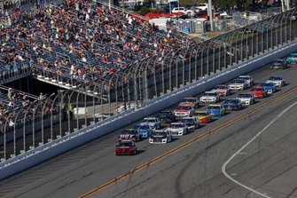 Jimmie Johnson, Hendrick Motorsports, Chevrolet Camaro Ally, Chase Elliott, Hendrick Motorsports, Chevrolet Camaro NAPA Auto Parts, Toyota Camry Pace car
